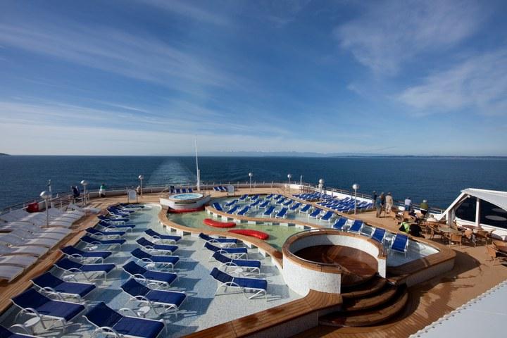 Cruisepresentatie van het salesteam van de Holland America Line