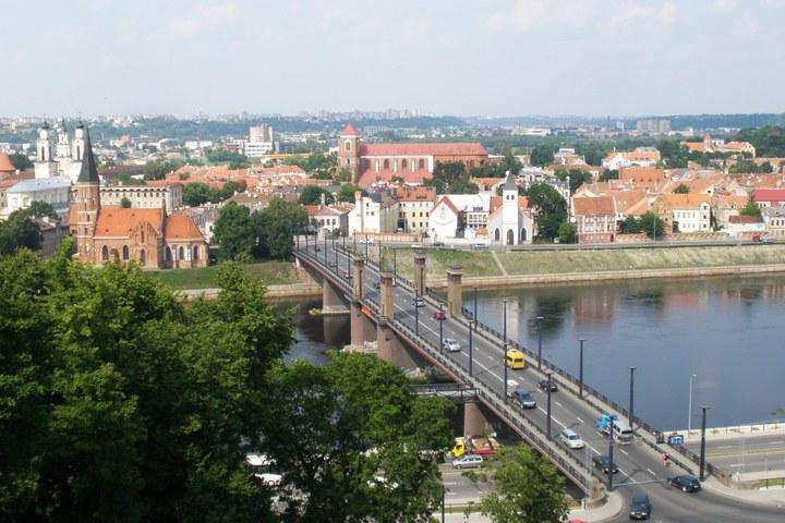 De Litouwse stad Kaunas