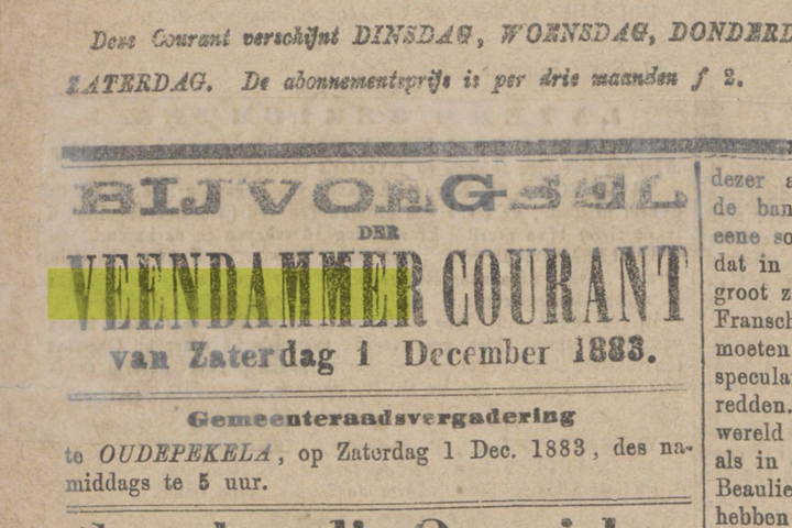 Historisch krantenarchief