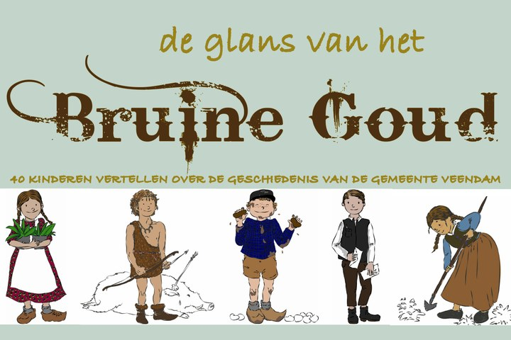 De glans van het Het Bruine Goud